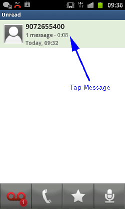 Tap Message