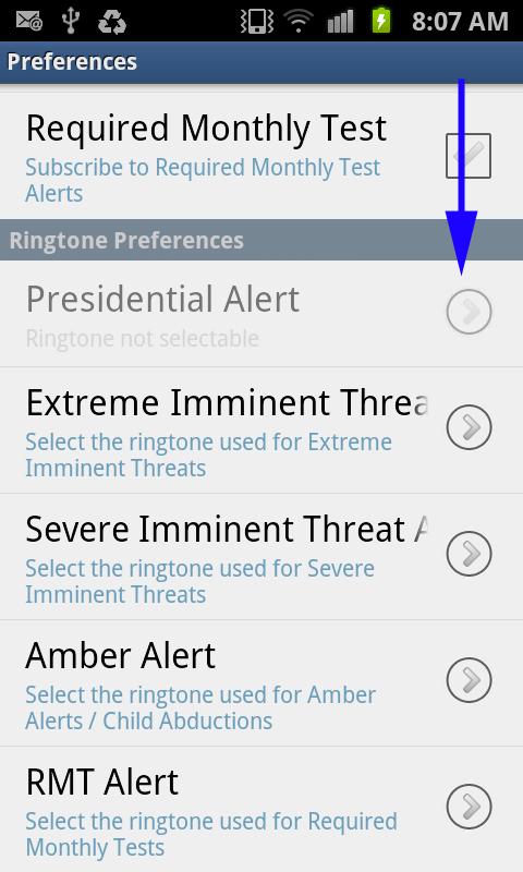 Select Alert