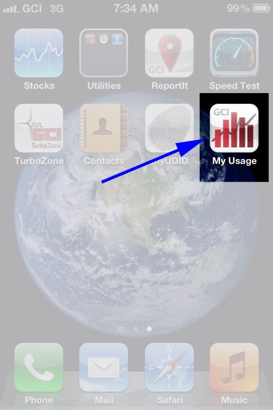 GCI Usage App