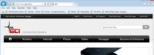 GCI Home Page