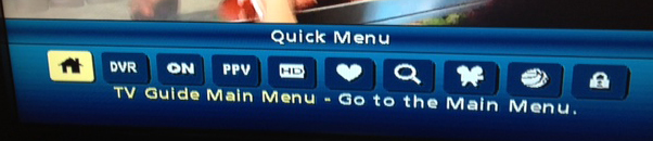 GCI Quick Menu