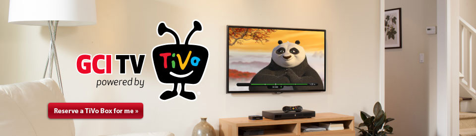 GCI TV powered by TiVo form