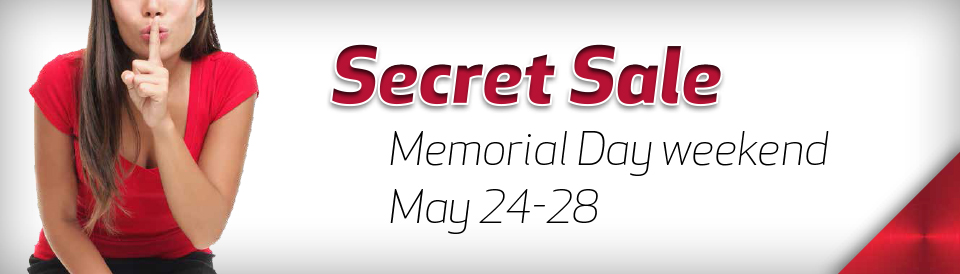 A 1 Memorial Day Secret Sale