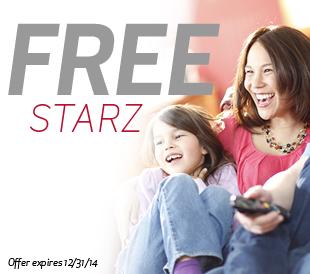 STARZ 1st Month Free