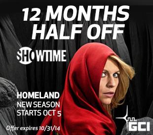 Showtime 12 months half-off
