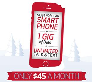 $45 Mobile Offer