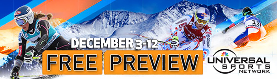 Universal Sports Free Preview on GCI TV