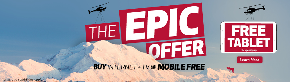 FREE Tablet with Epic from GCI