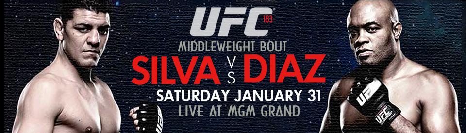 UFC 183 PPV Silva v. Diaz