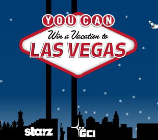 Win a Trip for 4 to Las Vegas